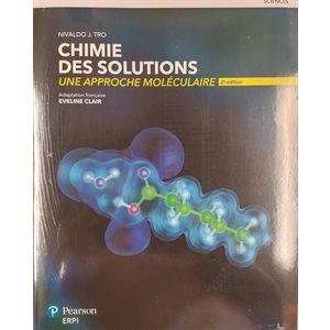 Chimie des solutions 2e édition