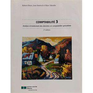 Comptabilité 3 Analyse et traitement des données compt. spec