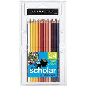 Crayons de couleur Prismacolor pqt. 24