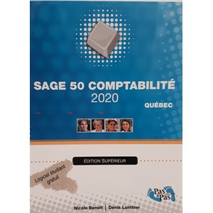 Sage 50, Comptabilité 2020 Québec Éd.Supérieur