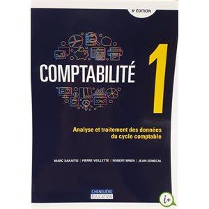 Comptabilité 1 : Analyse et traitement de données 8e ed