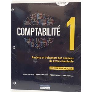 Comptabilité 1 - feuilles de travail 8e ed.
