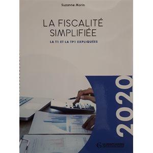La fiscalité simplifiée - La T1 et la TP1 expliquées 2020
