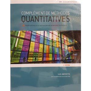 Complément de méthodes quantitatives 2e ed.