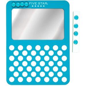 Miroir Five Star en métal pour casier