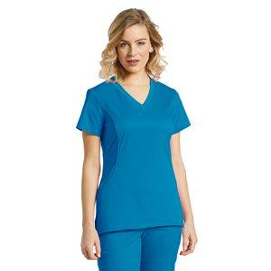 Uniforme Soins - Haut #722 - Bleu Hawaii 2XL