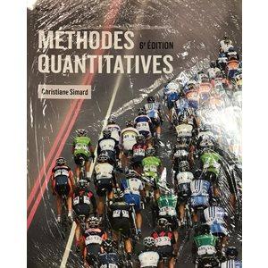 Méthodes Quantitatives 6e ed.