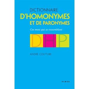 Dict. Homonymes